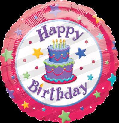 13643 18 Happy Birthday Cake