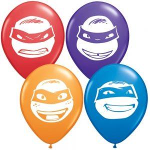 """5"""" Ninja Turtles Balloons"""