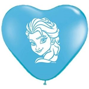 "6"" Elsa Face Balloons"