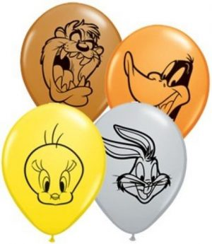 "5"" Looney Tunes Faces Balloons"