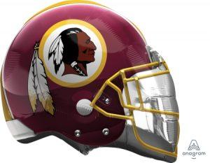 "26"" Washington Redskins Helmet Balloons"