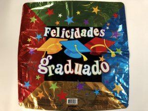 """18"""" Felicidades Graduado Balloons"""