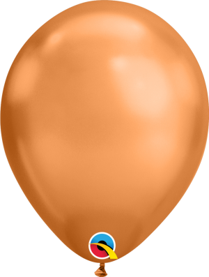 "11"" Chrome Copper (100ct) Balloons"