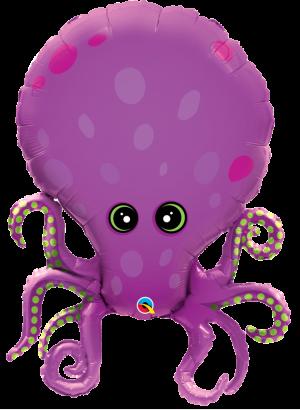 "35"" Amazing Octopus Balloons"