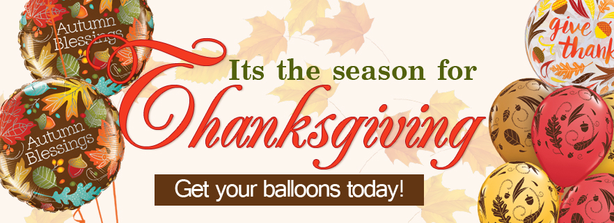Thanksgiving and Blessing Quoted Balloons