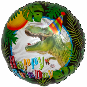 "18"" Birthday Dinosaur Party - BalloonsNmore Greenwich, CT"