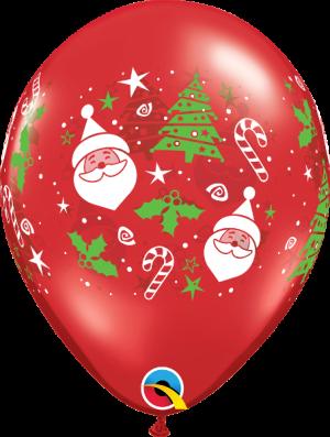 balloons for christmas